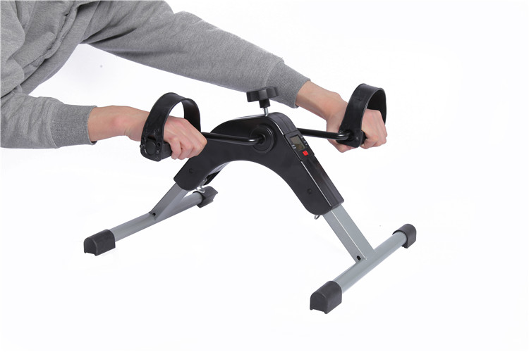 Home Mini Exercise Physical Therapy Calorie Counter Mini Bike Leg Pedal Trainer
