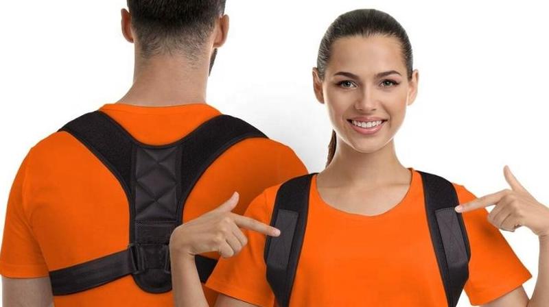 Горячая продажа 2020 amazon Регулируемый Корректор осанки поддержка ключицы поддержка плеч и спины фиксация осанки корректирующая фиксация спины