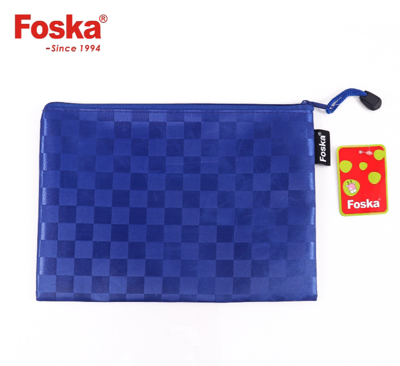 Foska office and school oxford canvas document bag with handles