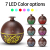 Ultrasound Aroma Diffuser, Creative Vase Wood Grain Household Humidifier, Bedroom Essential Oil Aromatherapy Machine for Home