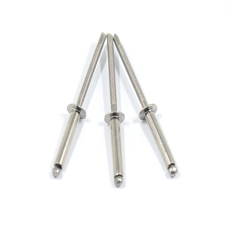 3.2mm x 10mm Blind Pop Rivets Countersunk Stainless Body Stainless Stem 100 PACK
