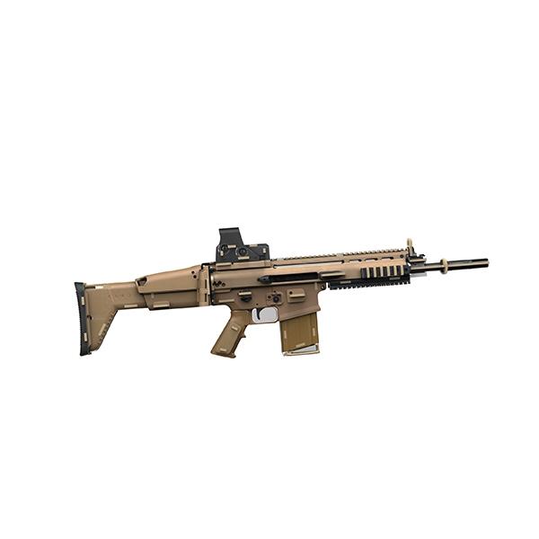 Venta caliente AK47/SCAR-L 3D rompecabezas de madera personalizado de la Asamblea de corte láser de madera 3D rompecabezas pistola de goma de madera rompecabezas