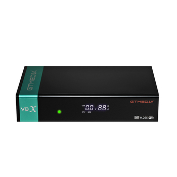 2020 Newest GTMEDIA V8X DVB-S/S2/S2X Satellite TV Receiver With CA Card Slot Support BISS auto roll, Full PowerVu, DRE&Biss key