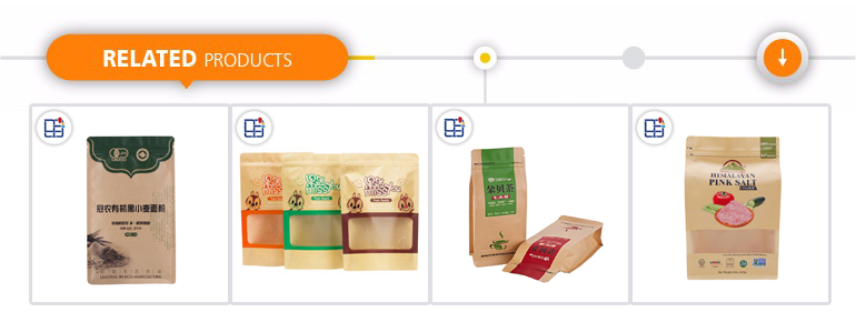अनुकूलित निविड़ अंधकार पारदर्शी खिड़की कुकीज़ खाद्य पैकेजिंग प्लास्टिक बैग Ziplock सफेद क्राफ्ट शिल्प पेपर बैग