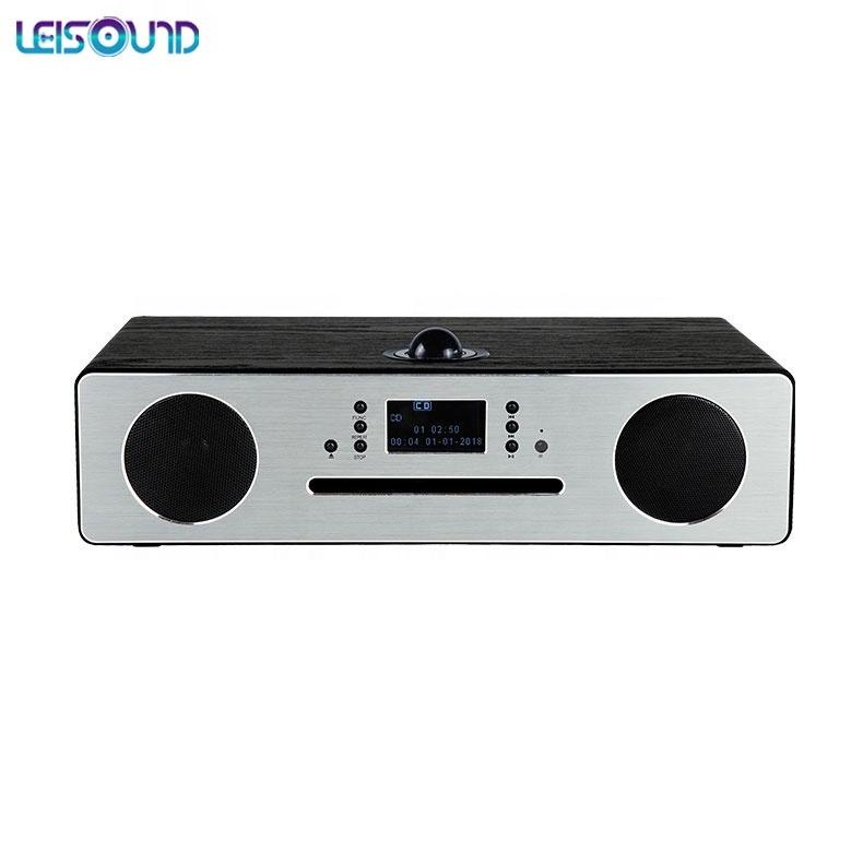 LEISOUND 홈 시어터 모든 CD 플레이어 + DAB + 무선 충전 콤보 시스템 DAB CD 라디오 플레이어