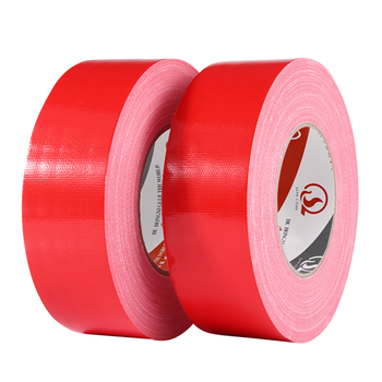 70mesh High Quality Industrial Custom Duct Tape Cloth Tape Red Color