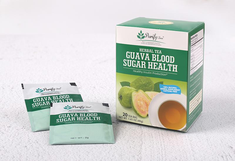 Healthy Blood Sugar Lower Guava Leaf Tea - 4uTea | 4uTea.com