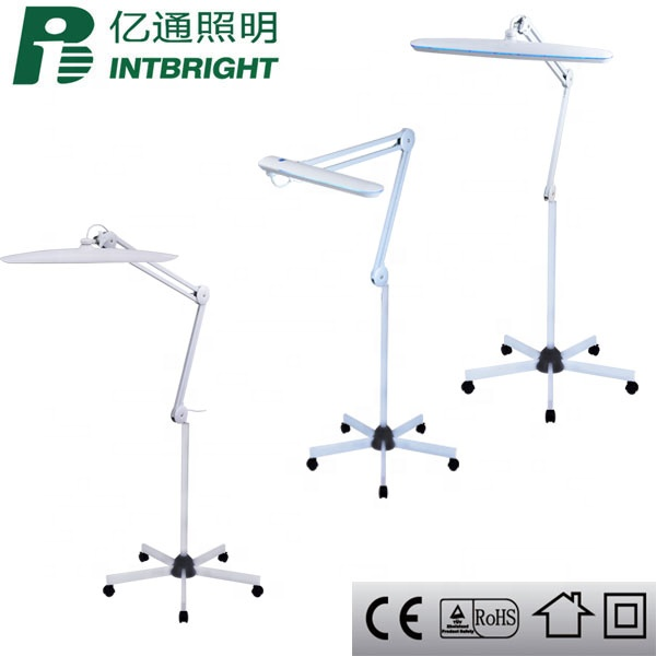 professional eyelash extensions lash light working lamp beauty lamp for salon led lamp for nails rolling floor stand