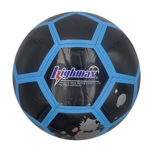 High quality custom official size 5 machine stitched football pvc football for promotion