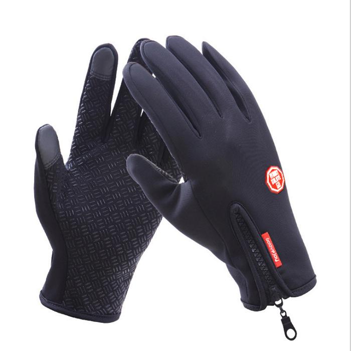 2020新しい冬のタッチスクリーン手袋防風防水熱男性女性キャンプサイクリング屋外