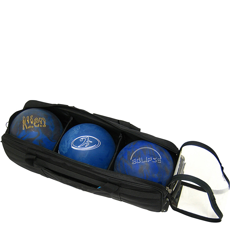 Durable Rolling Custom Bowling Bags with Detachable Shoes and Accessory Bag Basketball Storage Bag
