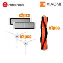 Аксессуары для пылесоса Xiaomi Roborock S50, запчасти для пылесоса Xiaomi, фильтр HEPA, тряпка для швабры, основная щетка, боковая щетка, фильтр для резерв...(Китай)
