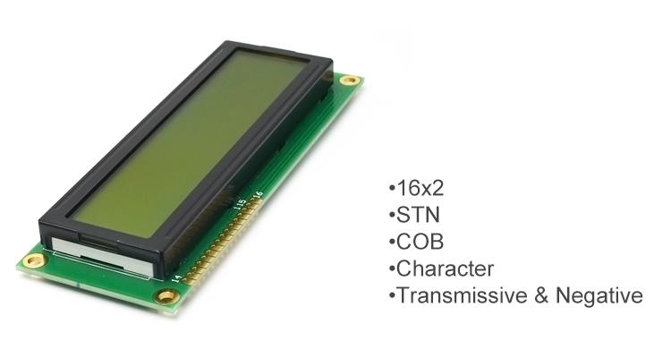 16x2 display module