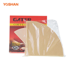 Home Commercial Heal Seal Filter Paper 40 Pcs Solid Color Small Mini Pour over Coffee Crepe Filter Paper Low Price 2020