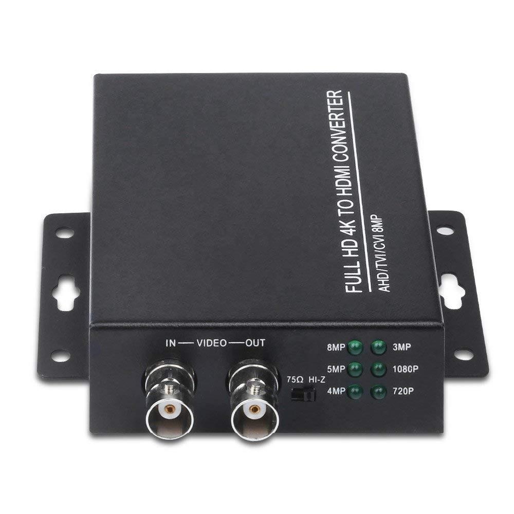 AHD TVI CVI 4K to HDMI 3 In 1 HD Converter for Camera CCTV Tester Converter UK