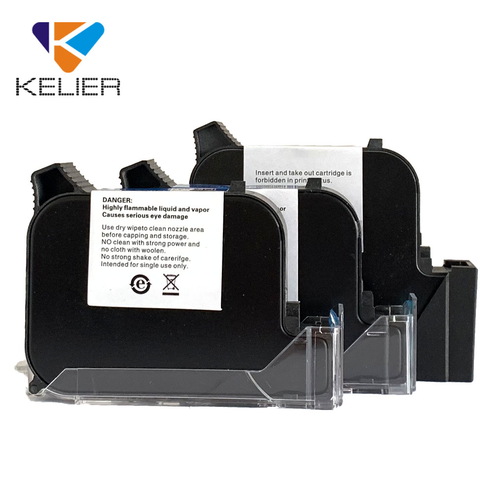 2580 2586K Solvent Black Ink Cartridge for Anser u2 H3 H6 H7 M3 M3S M6 M7 KX1G Inkjet <strong>Printer</strong>