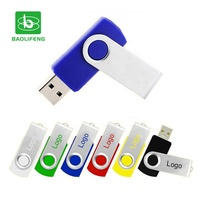 customized promotional portable 8gb 16gb 32gb swivel flash usb drive pormo
