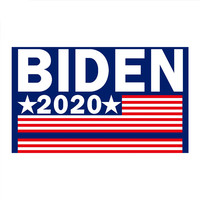 2020 Custom made US presidential campaign Sublimation flag America election Joe Biden Hand Flags
