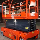 Electric Hydraulic Lift Self Propelled Scissor Lift For Construction Building