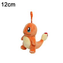 12 см Пикачу кулон плюшевая игрушка белки Бульбазавр, чармандер брелок снорлакс мягкие животные маленькие куклы(Китай)