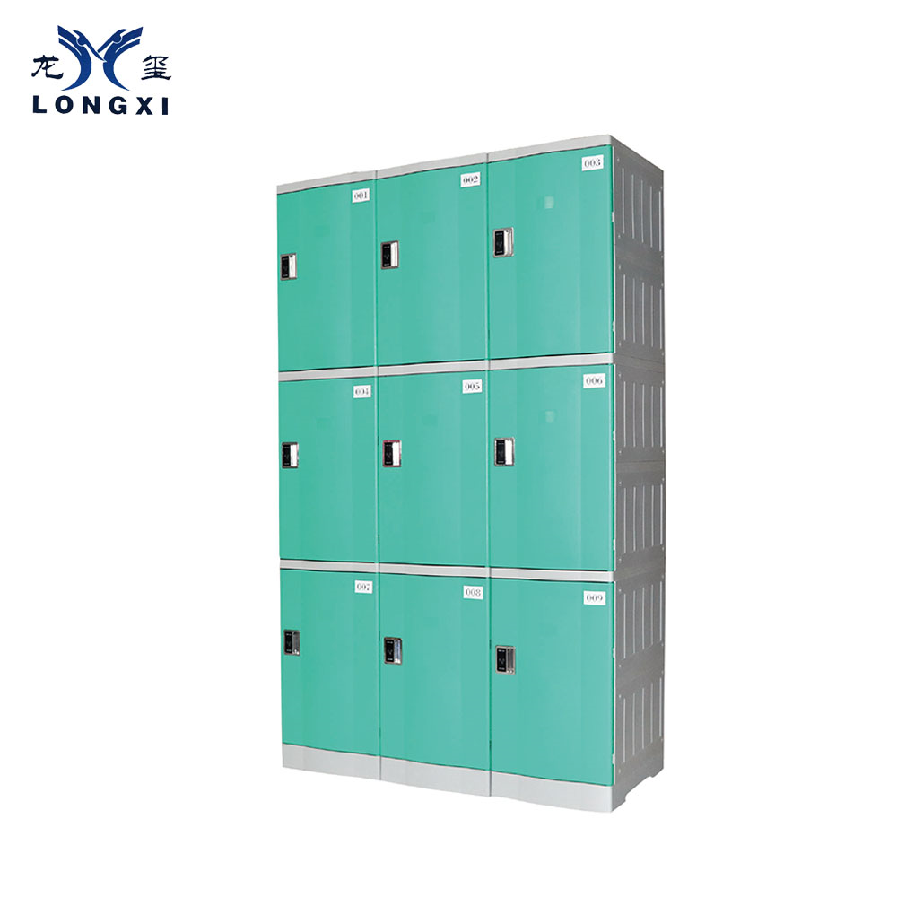 school gym  swimming pool cabinet luggage abs plastic Locker