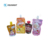 Custom Printed Transparent Smell Proof Plastic Packaging Spout Top Bag Baby Food Storage Bag