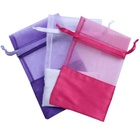 wedding non woven drawstring gift bag jewelry small bag