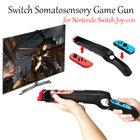 2019 Newest Switch shooting game somatosensory handle gun shell protective case for Nintendo Switch Joy con