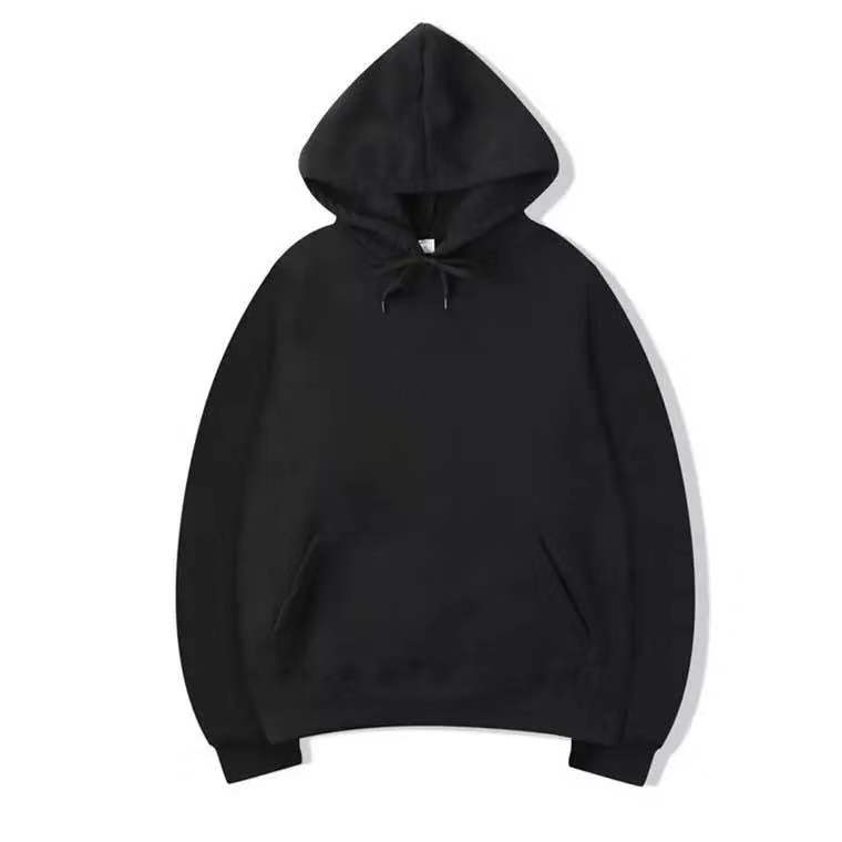 Wholesale manufacture unisex blank high quality fleece pullover hoodie