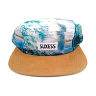 100% Polyester Sublimation Printed Hat And Caps/Custom 5 Panel Snapback Camp Cap