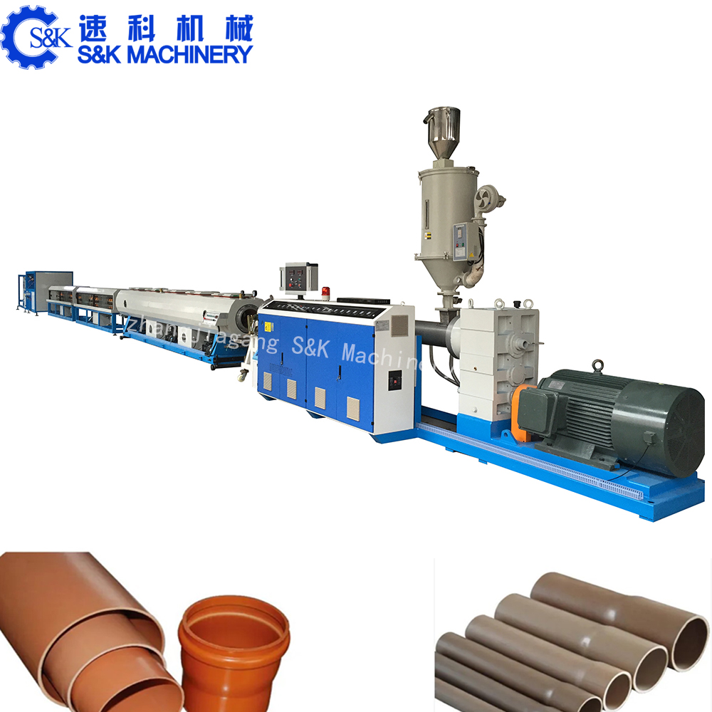 plastic PPR MPP tube hose extruder line 630mm soft PVC pipe extrusion machine