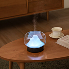 LED night light Aromatherapy Essential Oil Diffuser - Portable Ultrasonic Diffuser Cool Mist Air Humidifier