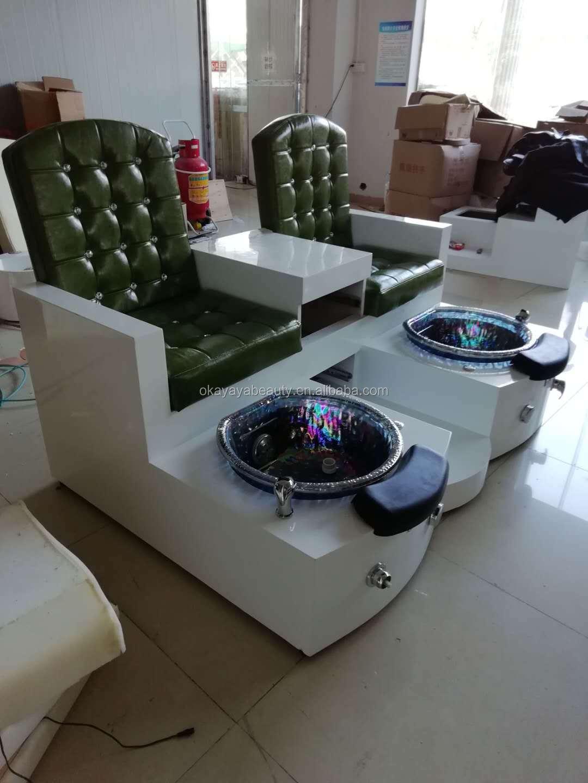 Modern pedicure chair nail salon manicure chair for nail salon spa massage furniture