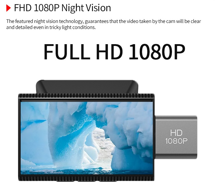 High quality full hd 1080p dual car camera recorder android mirror dash cam front and rear with gps tracking system