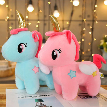 2020 New Arrival Valentine Gifts Plush Unicorn Toys Baby Soft Toys Kids and Girls Juguete Bed Decoration 10cm