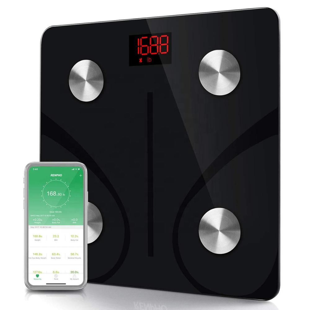 Bluetooth Body Fat <strong>Scale</strong> Smart BMI <strong>Scale</strong> Digital Bathroom Wireless Smart Small Weight <strong>Scale</strong> Electronic with Smartphone App