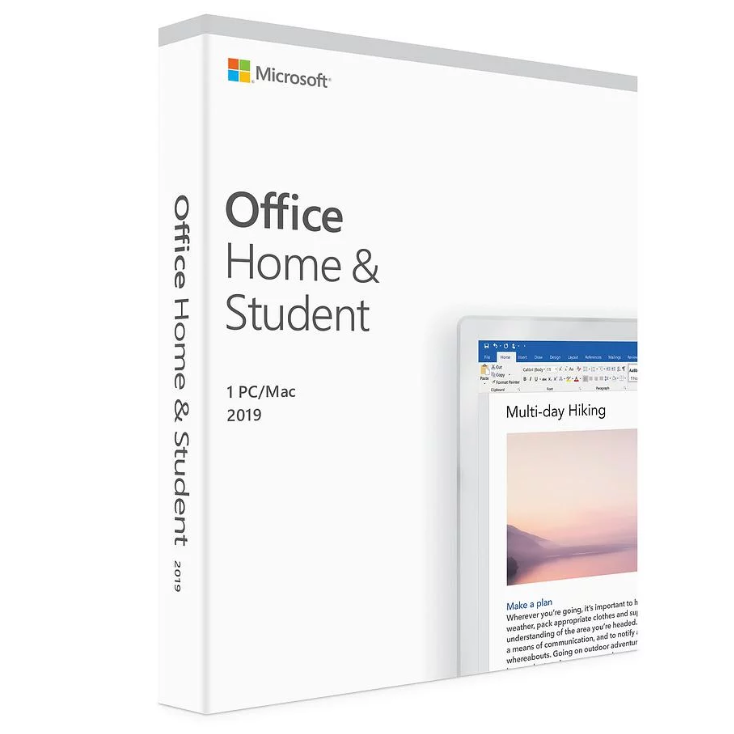 Activation Key Microsoft Office2019 Home and Student License Key Code For Windows 10 software digital download