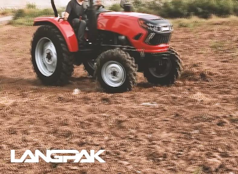 2016 polyvalent 2wd mini tracteur avec fraise rotative