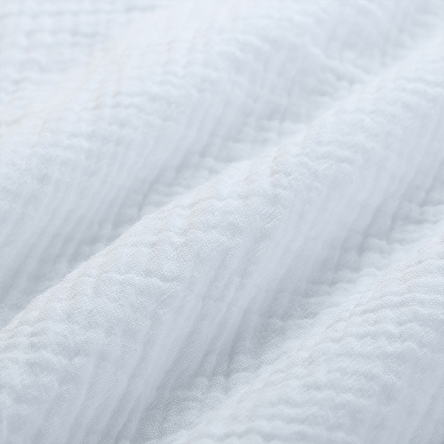 double wrinkle cotton gauze fabric for baby clothes