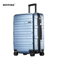 China travel luggage in stock 360 degree spinner double wheel large capacity charming business suitcase