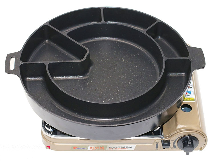 MODI korean electric gas type spare ribs pot for sale