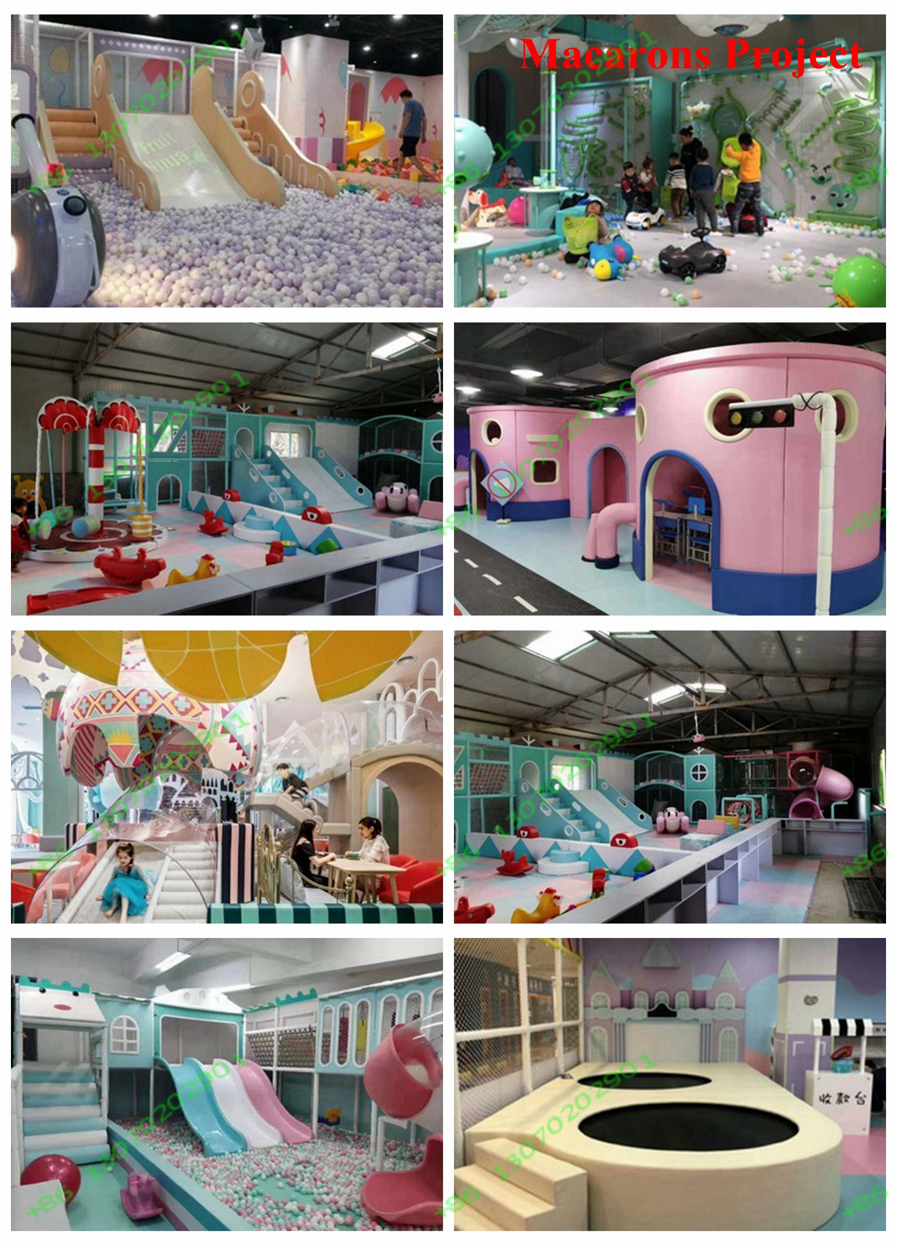Boa qualidade diretamente da fábrica de slides playground indoor 1 conjunto líquido de plástico para exportação