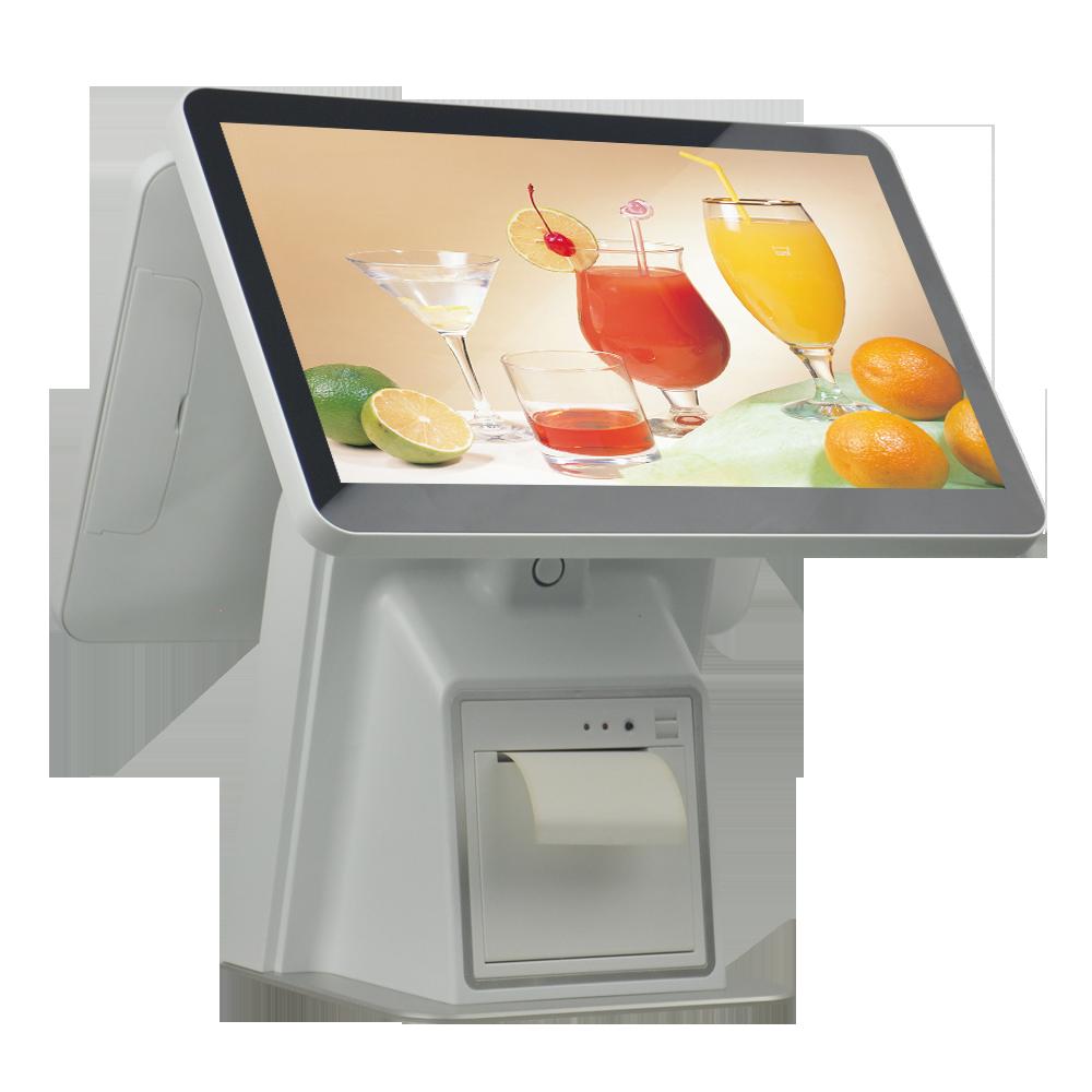 Розничная продажа POS терминал все в одном сенсорный экран POS система точка продажи машина кассовый аппарат
