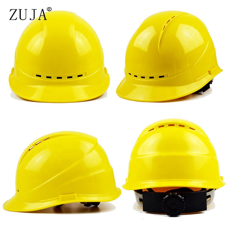 ZUJA Factory High Quality Construction ABS Safety Helmet for Worker