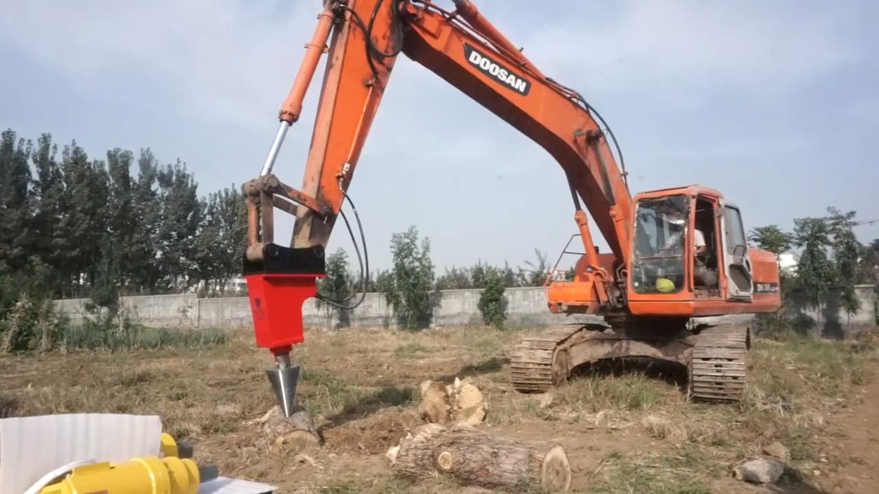 KINGER procesador de leña hidráulico registro divisor cono divisor para madera