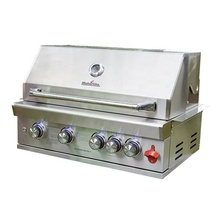 En acier inoxydable en plein air charbon torréfacteur construit en barbecue infrarouge barbecue <span class=keywords><strong>à</strong></span> <span class=keywords><strong>gaz</strong></span>