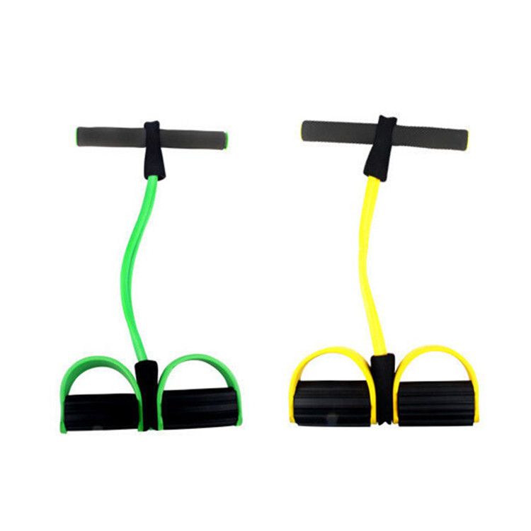 Multifunctional Elastic Pull Rope Stretching Slimming Yoga Gym Fitness Tube Rope Resistance bands