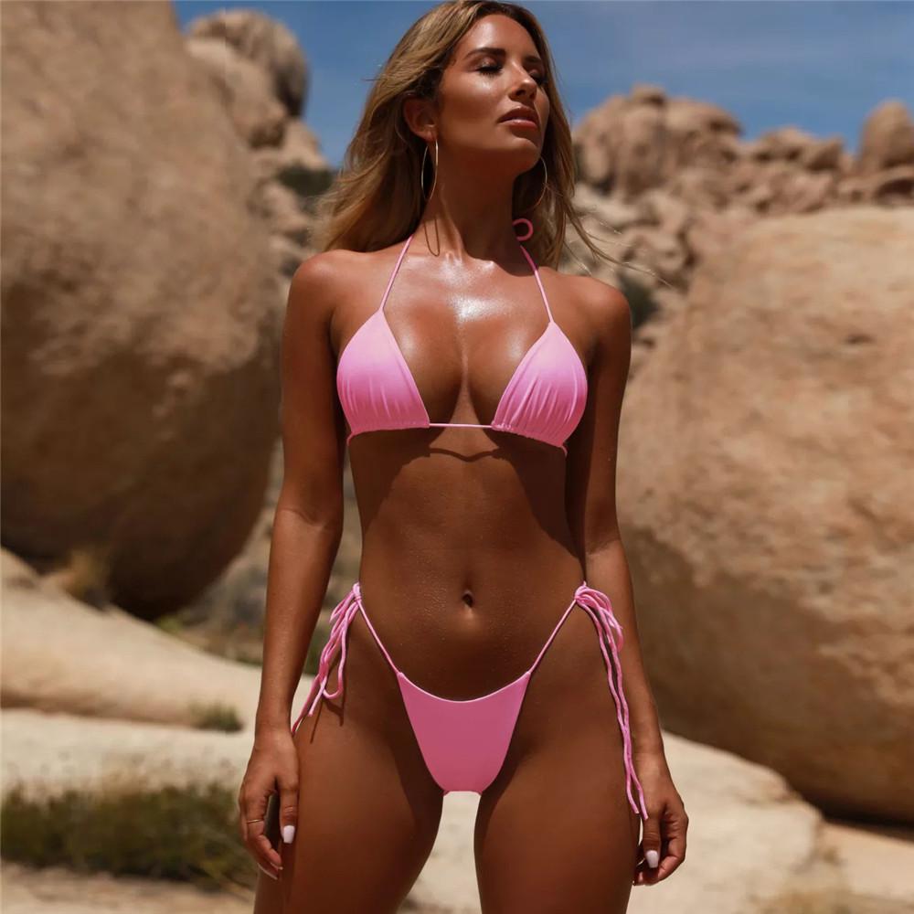 Venta al por mayor lindas mujeres en bikini-Compre online