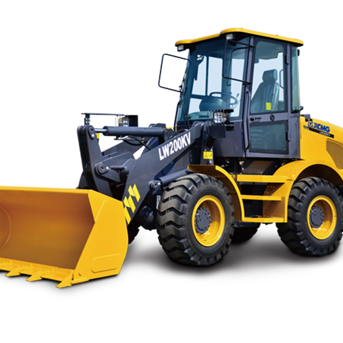 Small Loads Capacity 2 Ton Loader XCMG LW200KV Small Wheel Loader for Sale