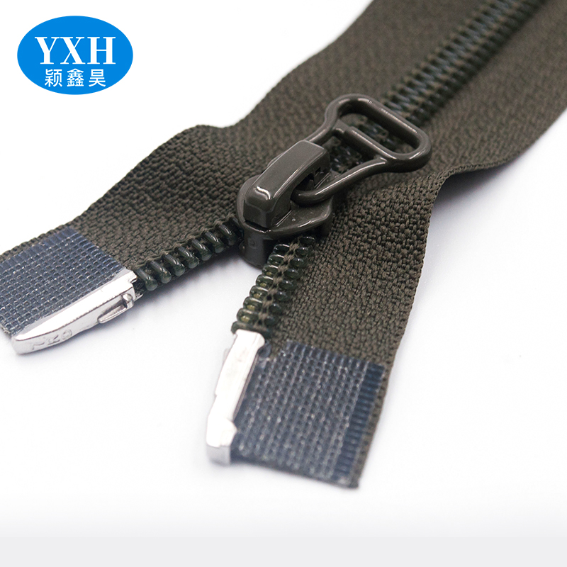 Manufacturers wholesale luggage bag with two-way sliding nylon zipper two-way two-end zipper custom